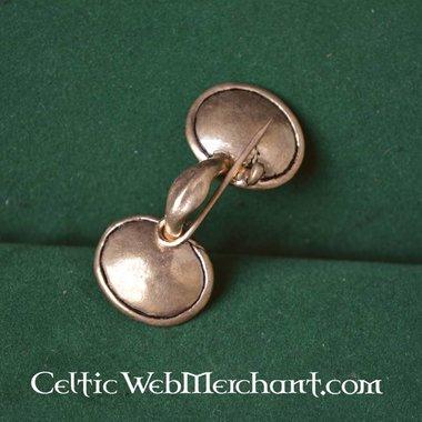 Bronze age spectacle fibula