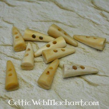Bone buttons 40 mm