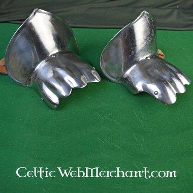 14de eeuwse halfhandschoenen