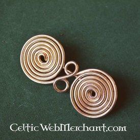 Spiral formet forestilling, fibula