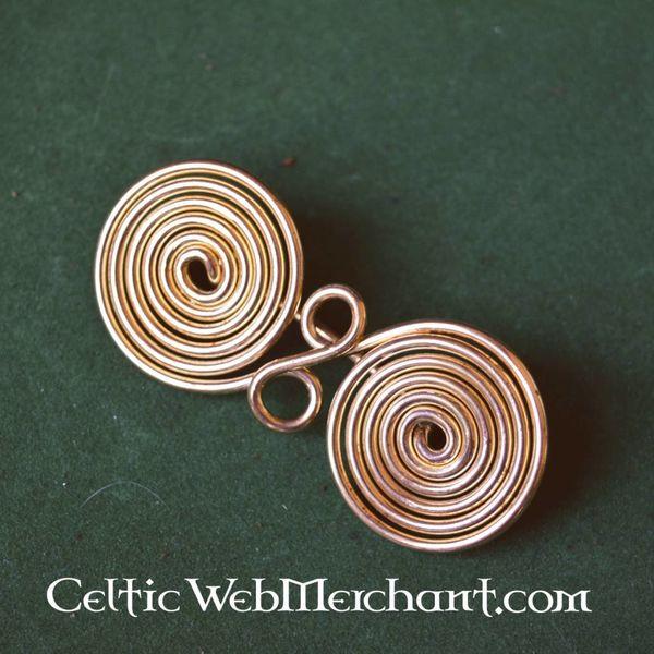 Spiral shaped spectacle fibula
