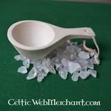 Cucchiaio da portata con cordino in cuoio
