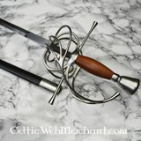 German rapier with turned hilt