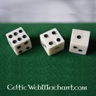 Historical dice (set of 3)