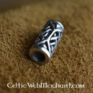 Celtic beardbead silver