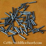 100 steel rivets 12 mm