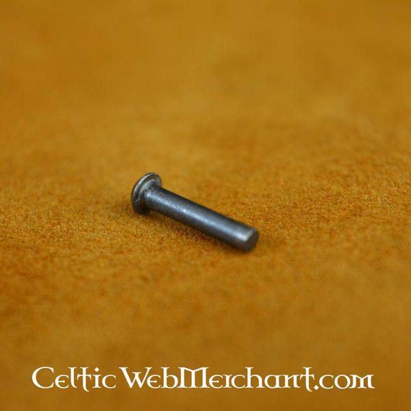 100 steel rivets 12 mm