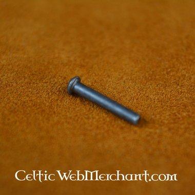 100 steel rivets 8 mm