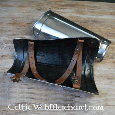 Vambraci corti in acciaio