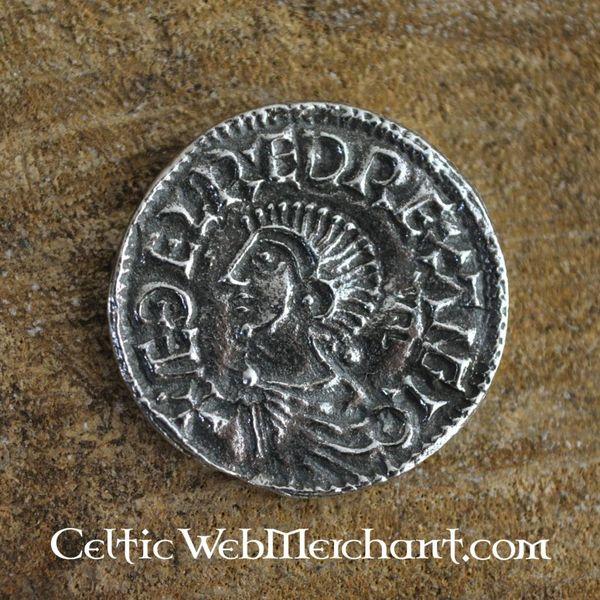 Anglo-Saxon mønt Aethelred II