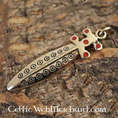 Celtic sword jewel
