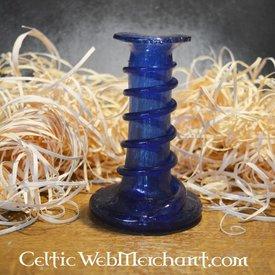 Candelabro unguentario azul