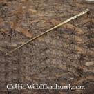 la aguja del pelo de bronce romana