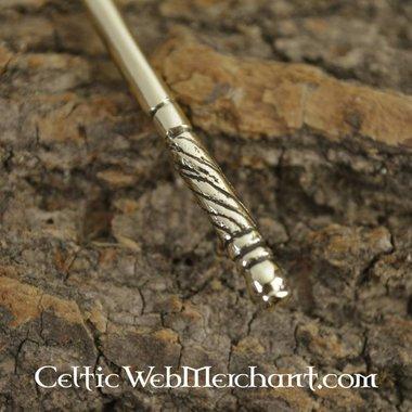 Roman bronze hair needle
