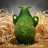 Roman glass Amphora green