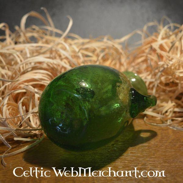 Romeinse glazen Amphora Groen