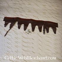 Casque attique à crête, en laiton
