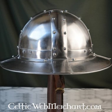 Kettle hat with bands