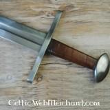 Tardo spada vichinga Oakeshott tipo X battaglia-ready
