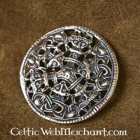 Viking broche Borrestyle bronze