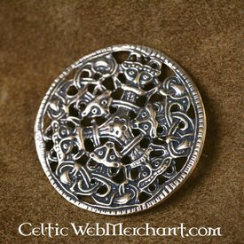 Viking brooch Borrestyle bronze