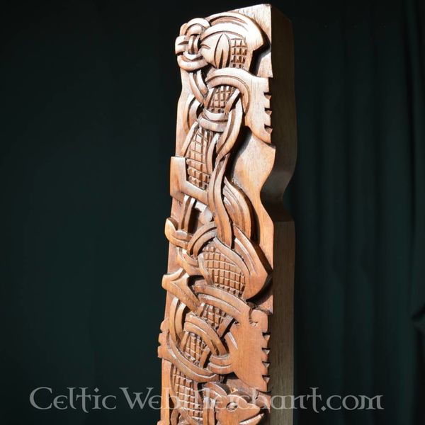 Viking woodcarving