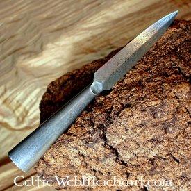 Ulfberth Germanic spearhead, damascus steel
