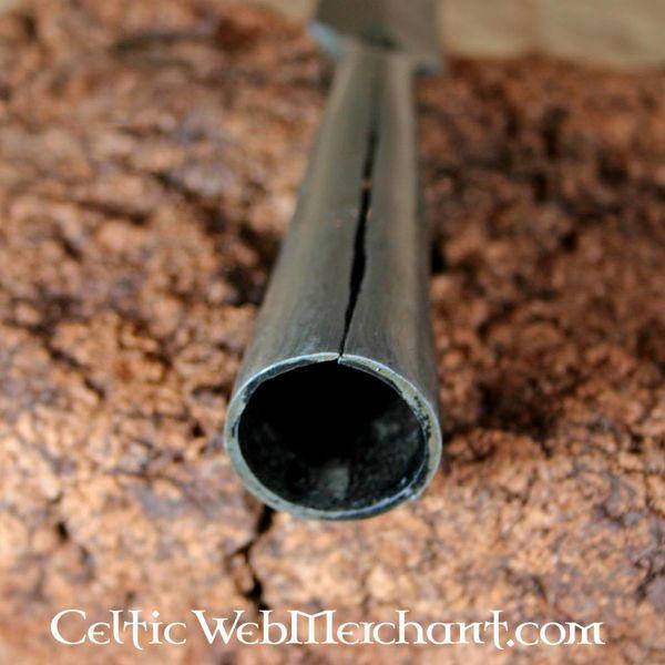 Ulfberth Testa di lancia germanica, acciaio damasco