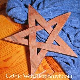 drewniane pentagram