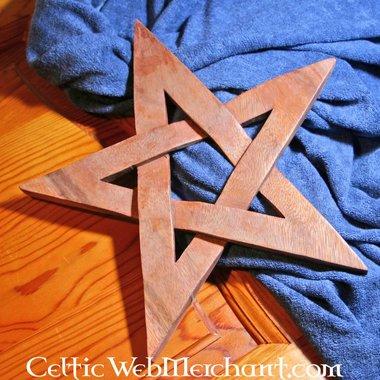 Pentagramma in legno
