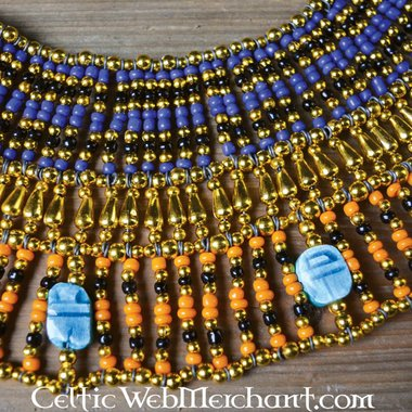 Egyptian necklace Nefertiti 25 cm