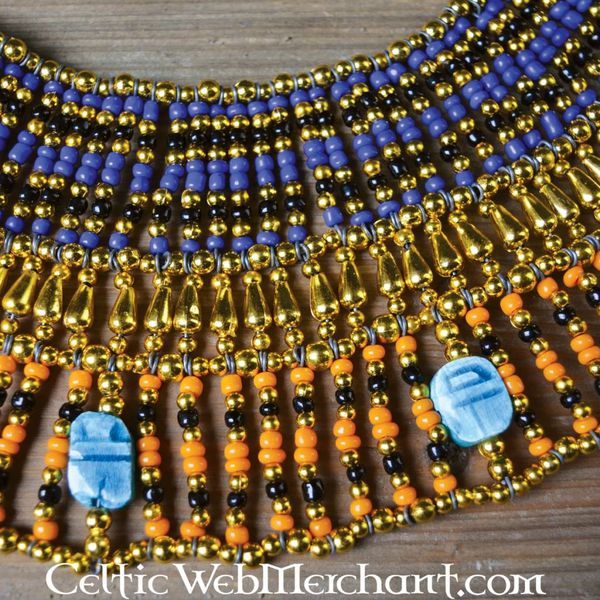 Egyptian necklace Nefertiti 25 cm