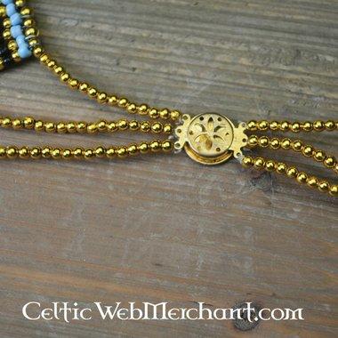 Egyptian necklace Nefertiti 34 cm