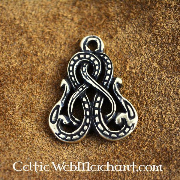 Viking amulet wąż Midgardu