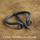 Iron ring brooch