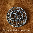 Argent Urne style Broche Viking
