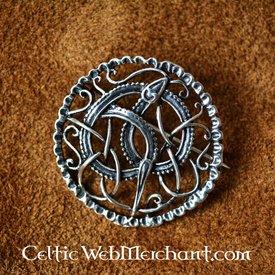 Srebrny Urnesstyle Vikingbroche
