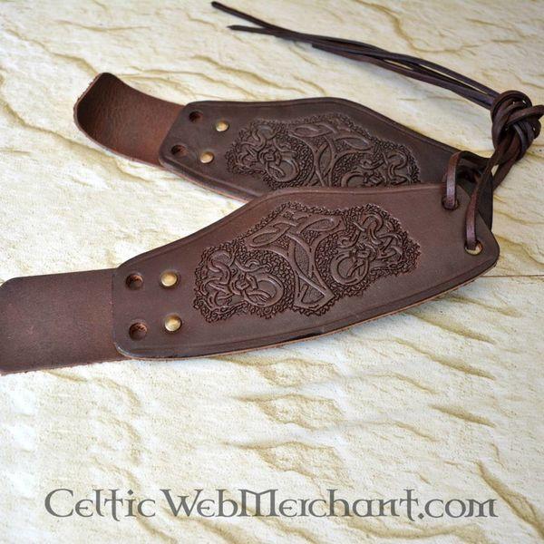 Paar Viking armbeschermers