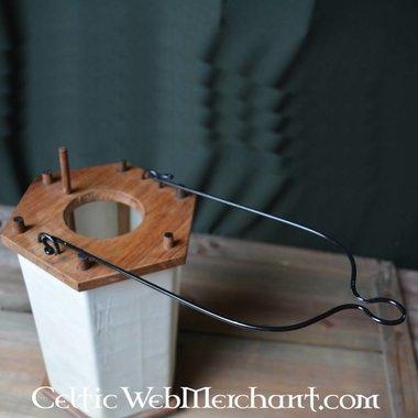 Linterna alto medieval