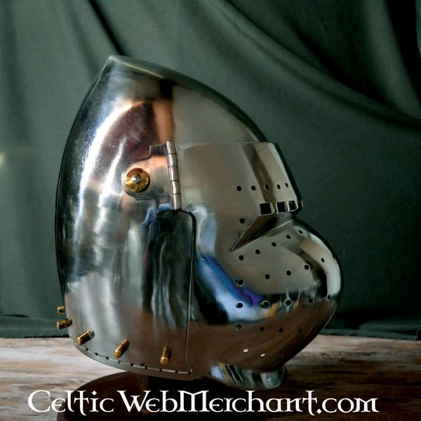 Ulfberth Battle-ready gesloten bascinet