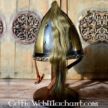 casco Rusvik con crine di cavallo