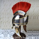 Attic helmet with crest
