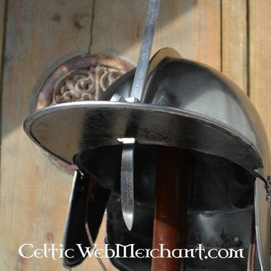 Casco húsar siglo 17