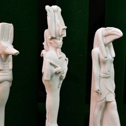 Egyptian statues