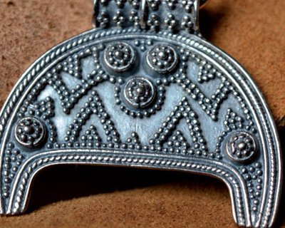 Joyería bizantina, germánica y Moravia hecha a mano