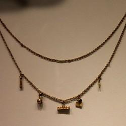 Sølv og bronze halskæder
