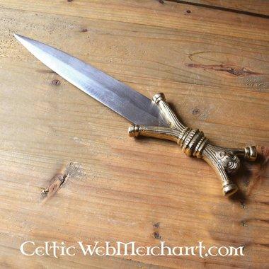 Celtic anthropomorphic dagger