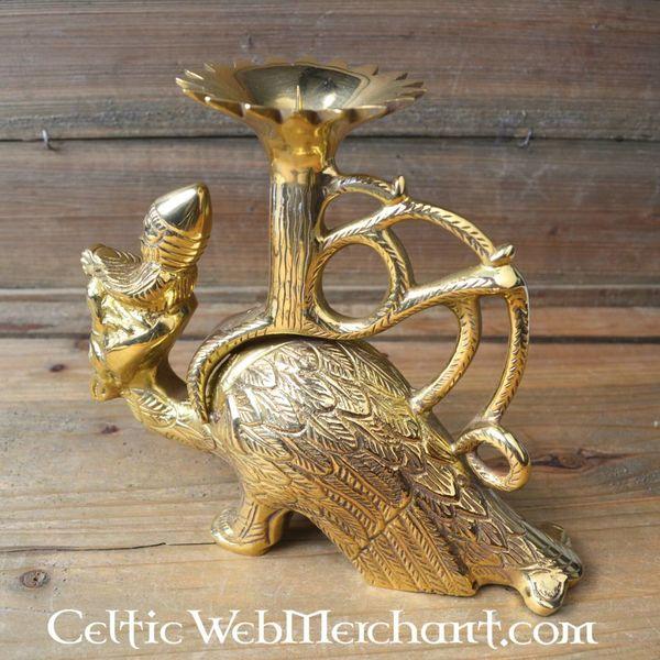 Gothic griffin lantern