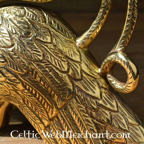 Gotische kandelaar met griffioen