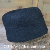 15th century felt hat Dürer, black